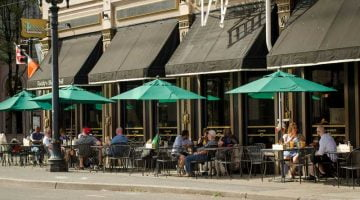 Paddy's Portland outdoor dining
