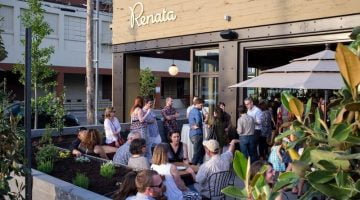 Renata Italian Restaurant Portland outdoor seating