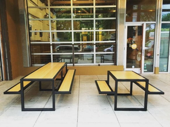 Ristretto Roasters Portland N. Williams outdoor dining