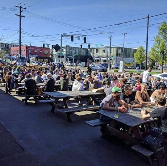 Apex Bar Portland outdoor dining