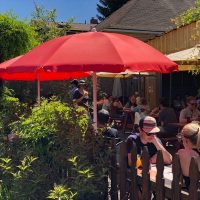 Great Notion Brewing outdoor dining Portland