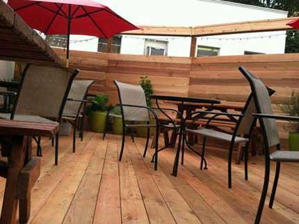 Hotlips Pizza PSU Portland outdoor dining