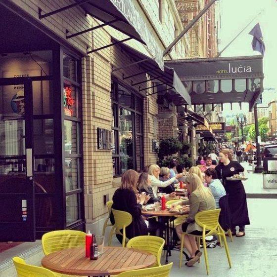 Imperial Restaurant Portland outdoor dining