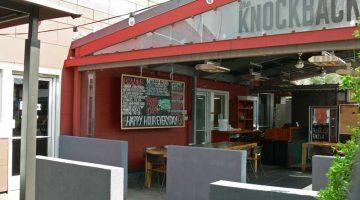 The Knock Back Portland outdoor dining