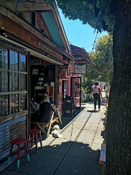 Por Que No Portland outdoor dining