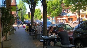 23Hoyt Restaurant Portland Outdoor dining