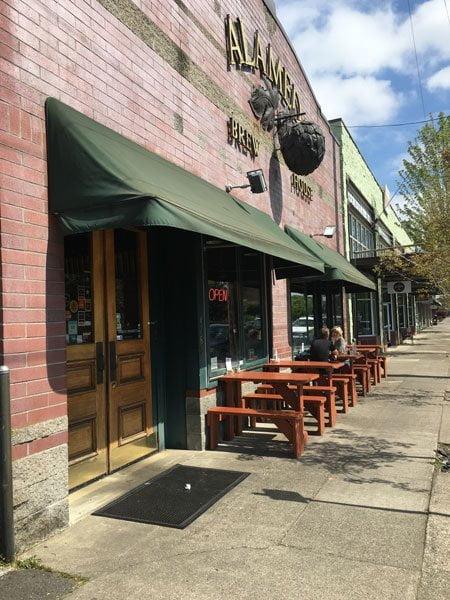 Alameda Brewing Portland outdoor dining