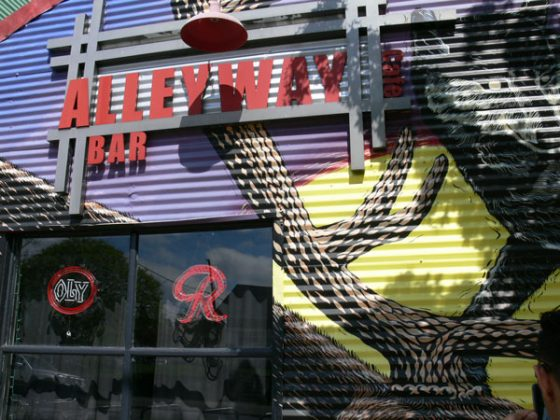 Alleyway Bar Portland