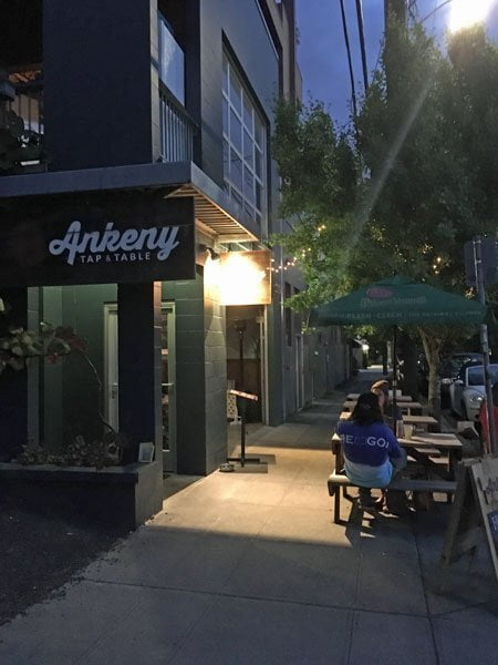 Ankeny Tab & Table Portland outdoor dining