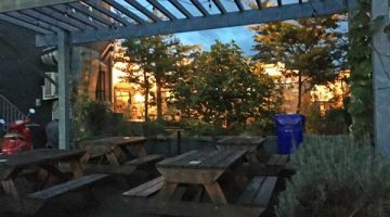 Ankeny Tap & Table Portland outdoor dining