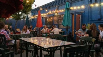 Autentica Patio outdoor dining portland
