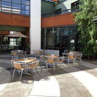 Aviary Portland outdoor dining