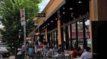 Cafe Mingo Portland Restaurant outdoor dining
