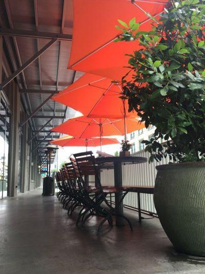 Bluehour Restaurant outdoor dining