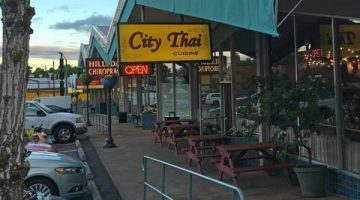 City Thai Portland outdoor dining