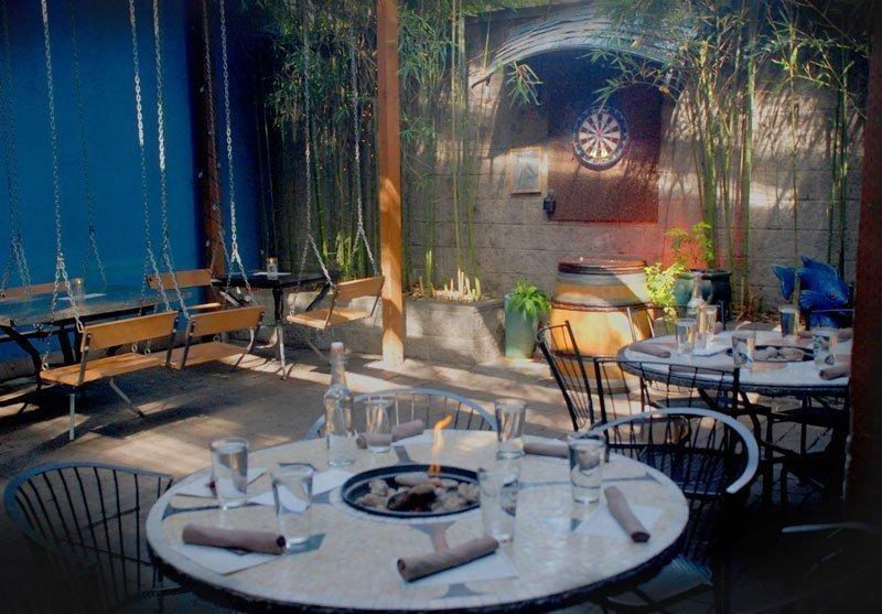 The EastBurn Portland outdoor dining