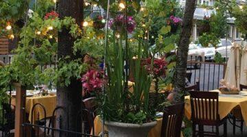 Enzo's Alberta Portland outdoor dining