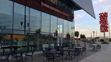 Flying Elephants South Waterfront outdoor dining Portland