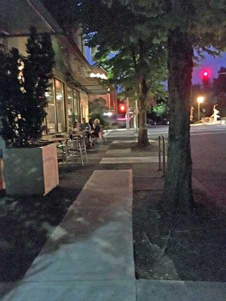 Lucca Restaurant Portland outdoor dining
