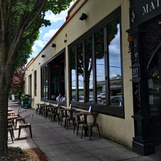 The Matador NW Portland outdoor dining