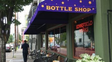 McMenamins Bottle Shop NW 23rd Portland outdoor seating