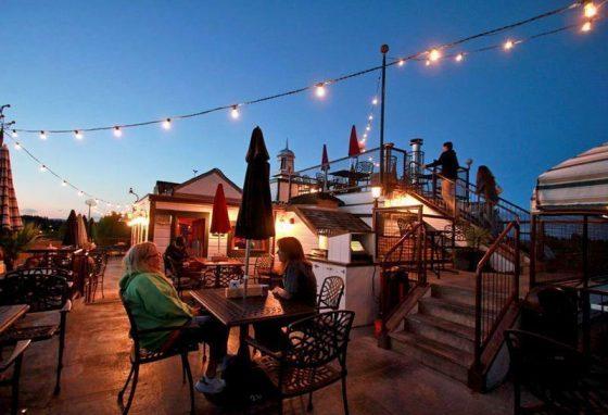 McMenamins Hotel Oregon outdoor dining
