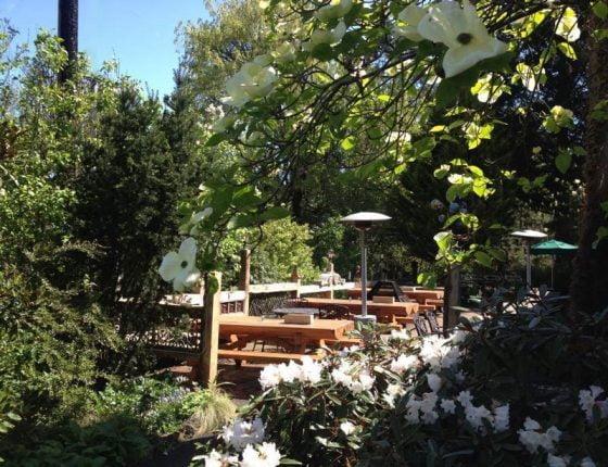 McMenamins Rock Creek Tavern outdoor dining