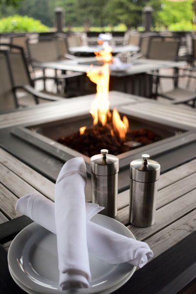 Ringside Grill Portland outdoor dining