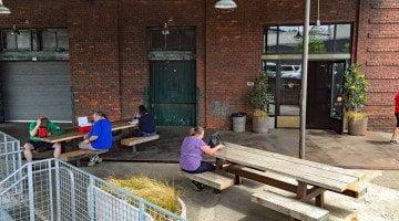 Ristretto Roasters Nicolai Portland outdoor dining