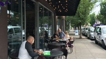 St. Honore Portland NW Thurman outdoor dining