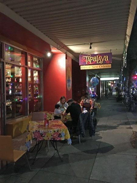 Tapalaya Restaurant Portland outdoor dining
