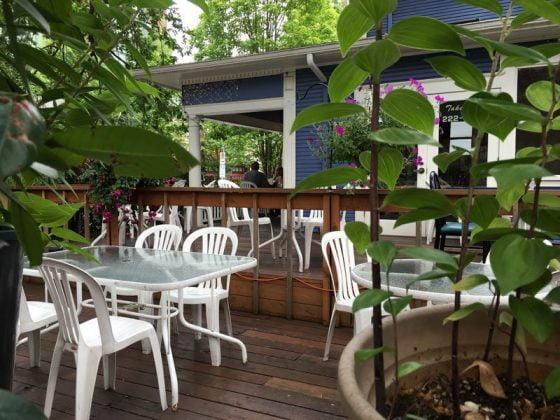 Tara Tha Portland outdoor dining