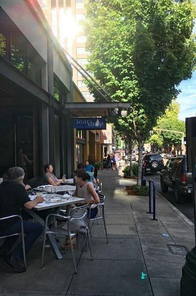 Teardrop Lounge Portland outdoor dining