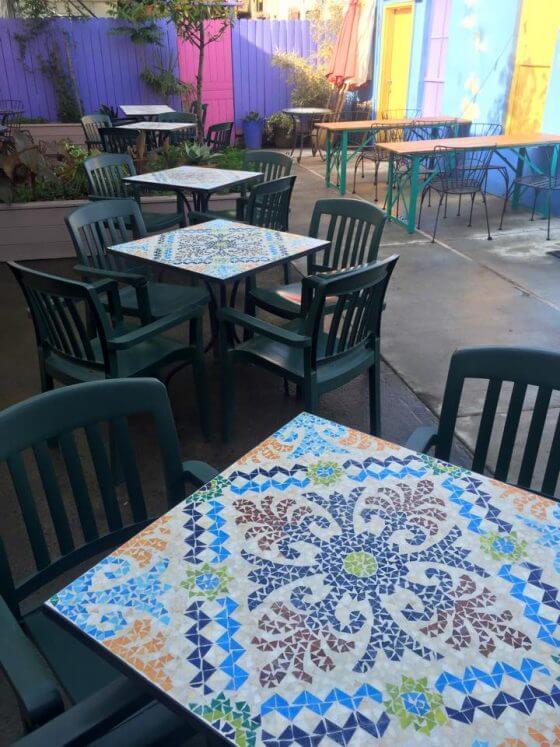 Autentica Mexican Restaurant Portland outdoor dining