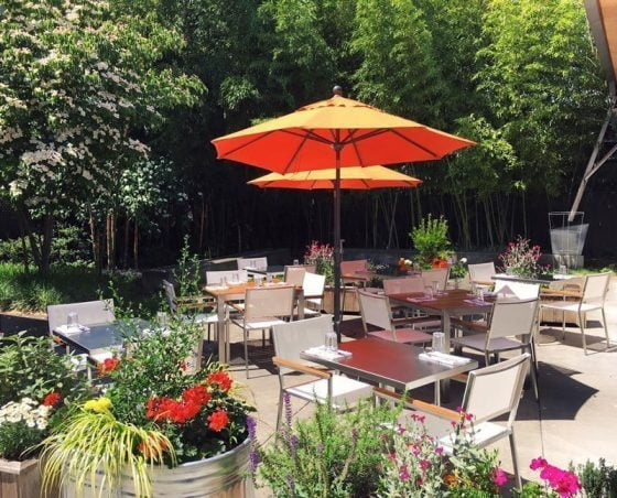 Burrasca Portland outdoor dining