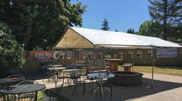 Cider Mill Hillsdale Outdoor Dining