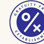 Restaurant gratuity-free logo