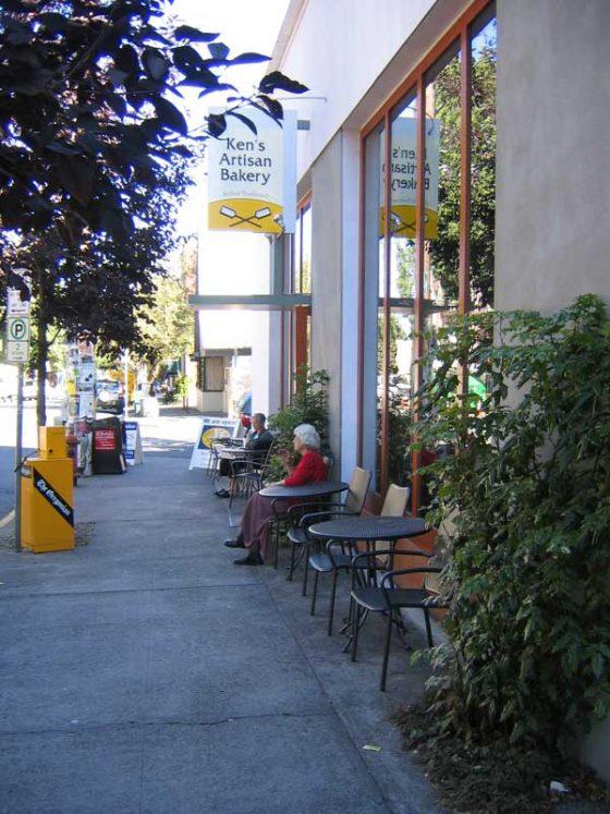 Ken's Artisan Bakery Portland outdoor dining
