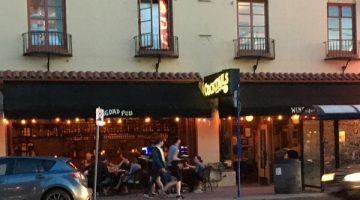 McMenamins Portland Bagdad Pub and Theater outdoor dining