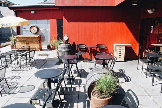 Pix Patisserie Portland outdoor dining