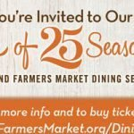 Sponsored: Taste of 25 Seasons – Portland Farmers Market Dining Series