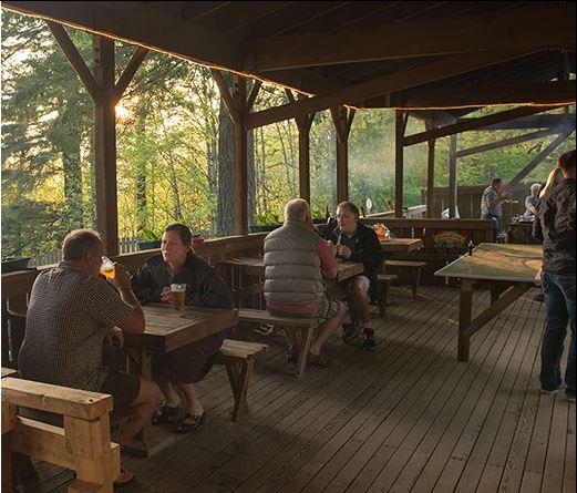 Skyline Tavern Portland outdoor dining