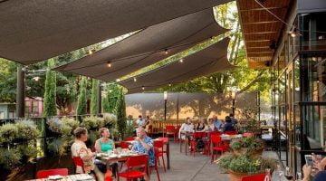 Nostrana Restaurant outdoor dining portland