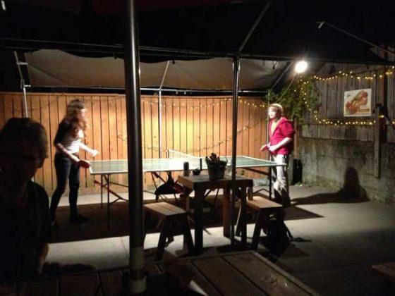 Zach's Shack Portland outdoor dining
