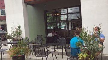 Barista Coffee Alberta Street Portland outdoor dining