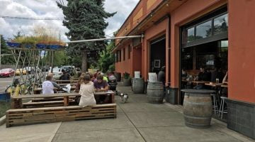 Breakside Brewing outdoor dining