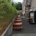 Bunk Bar at the Wonder Ballroom Portland outdoor dining