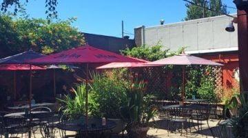Holman's Restaurant Portland outdoor dining