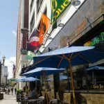 Independent Sports Bar Portland outdoor dining