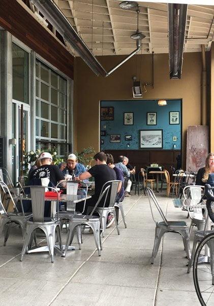 Kayas Ramen Bar Portland outdoor dining